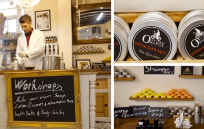 I riu shqiptar ndërton fabrikën e sapunave specialë në Oxford, një model suksesi për të gjithë (Video)