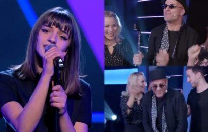 """Vajza e Robert Aliaj mahnit jurinë e """"The Voice"""" në Belgjikë!"""