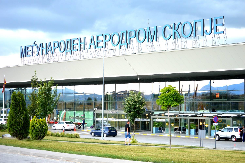 Të mërkurën hapet aeroporti i Shkupit dhe Ohrit