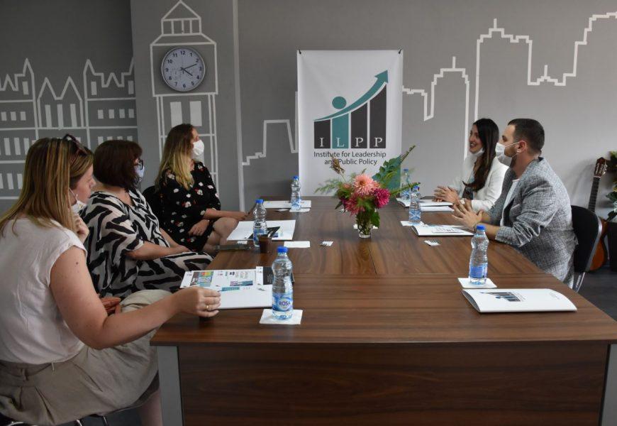 Vizita e Ambasadores së Mbretërisë së Bashkuar, Rachel Galloway, në Instutin për Lidership dhe Politika Publike, në Tetovë
