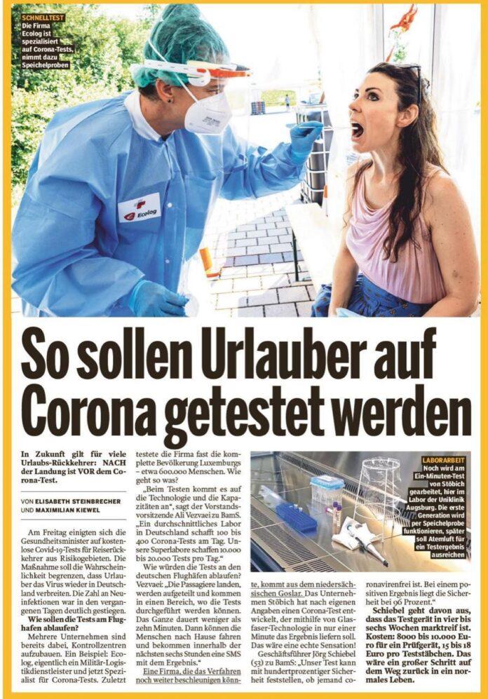 Gazeta gjermane Bild: Ja si do ti testojë Ecolog udhëtarët për Covid 19
