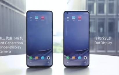 Pa një vrimë dhe pa elementë tërheqës: Kamera të padukshme nga Xiaomi/2021