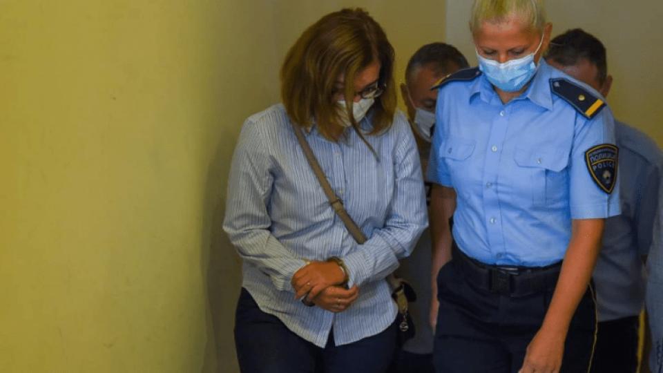 Jankullovska dërgohet në gjykatë për seancë gjyqësore