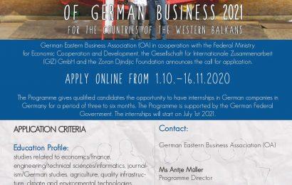 Punë praktike 3-6 muaj në Gjermani