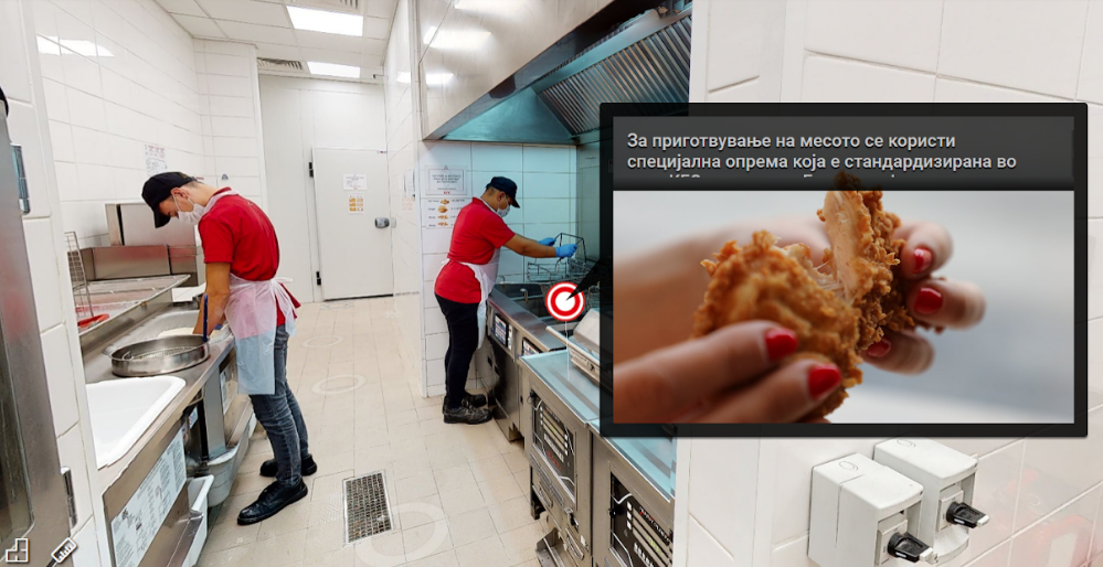 KFC Maqedoni: Do të mundësojë vizitë virtuale në kuzhinat e tyre