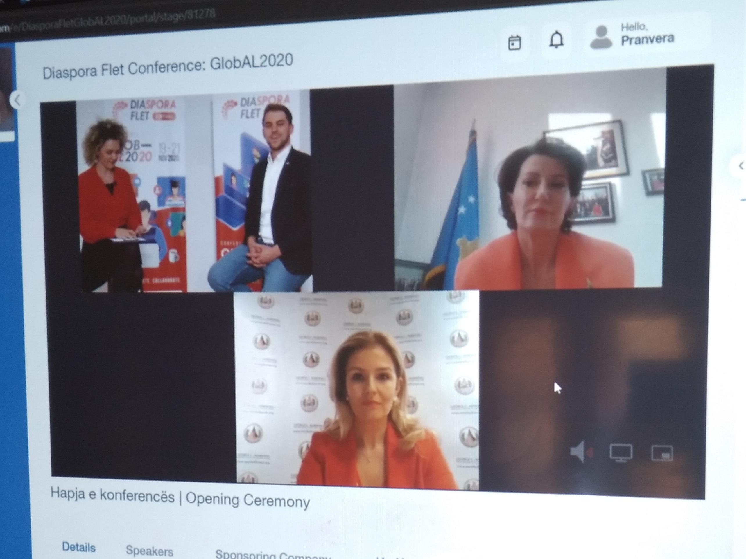 """Sot u mbajt konferenca e parë """"Diaspora flet 2020"""" e organizuar nga Gremin"""
