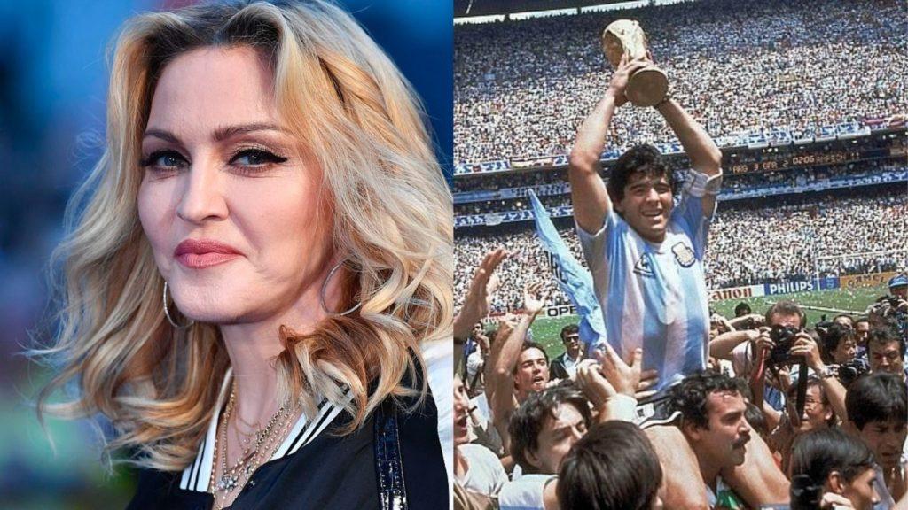 Australianët ngatërrojnë legjendën e futbollit Maradona me divën e pop-it Madona