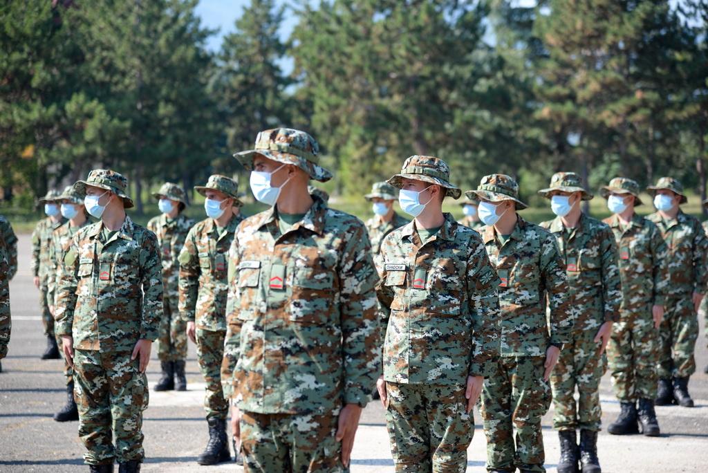 Armatës së RMV-së do t'i bashkangjiten edhe 200 ushtarë të rinjë