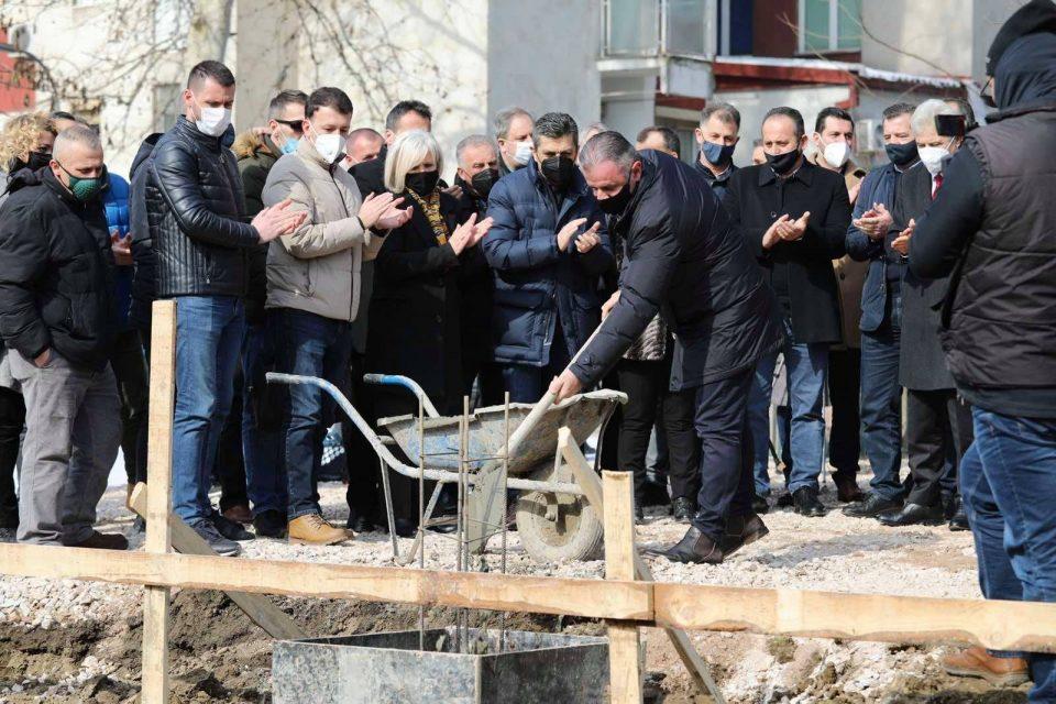 """Vihet gurthemeli për objekt shtesë në shkollën fillore """"Ismail Qemali"""""""