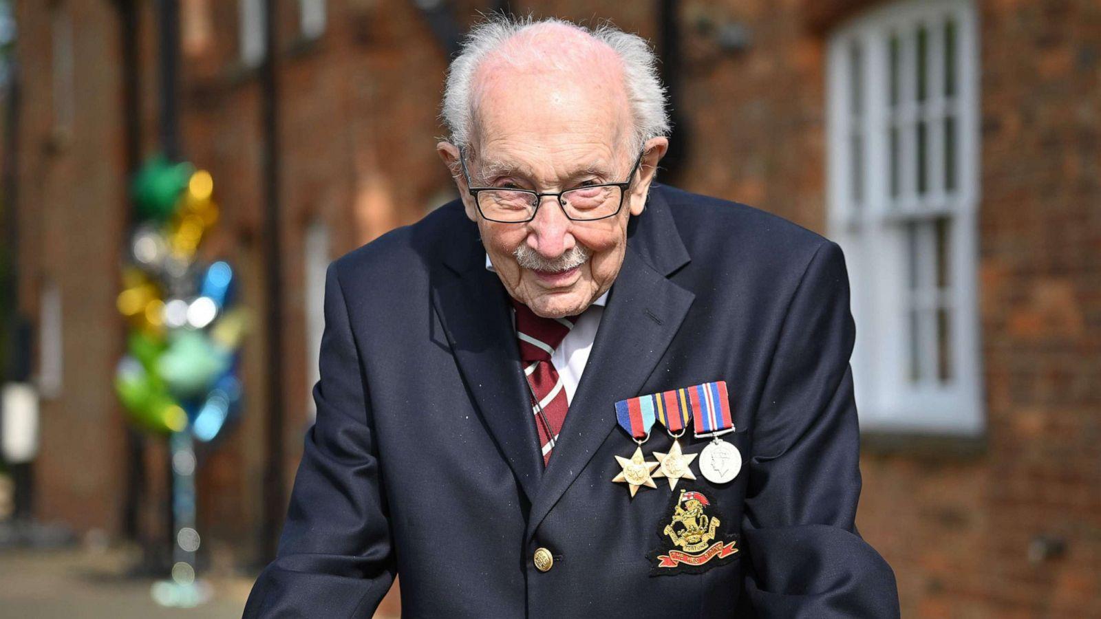 Grumbulloi 40 mln dollarë për mjekët në Britani, ndërron jetë heroi 100 vjeçar