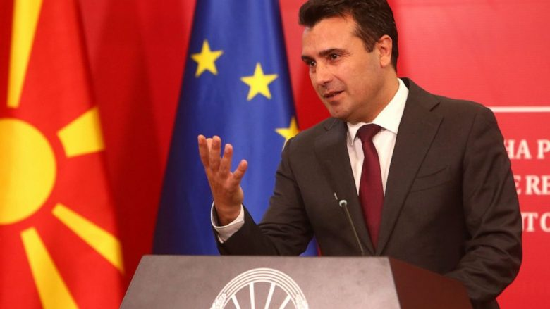 Zaev pas takimit me koordinatorët e opozitës shqiptare: Jemi për zgjidhje të përhershme për çështjen e shtetësisë