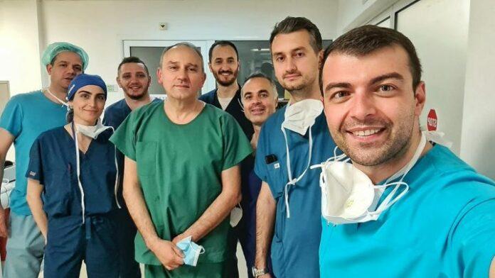 Për së treti herë Dr. Xhelili nga Tetova merr pjesë në operacionin e transplatimit të zemrës