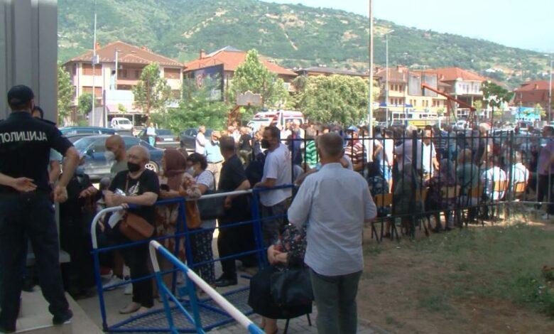 Tetovë: Radhë të gjata, në pikën e vaksinimit