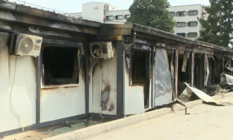 Pyetjet që ende nuk kanë përgjigje rreth zjarrit në Spitalin Modular të Tetovës