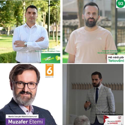 Ja çfarë i motivoi kandidatët për këshilltarë që të jenë në listat zgjedhore. – BDI, AA/ASh, PDSh dhe Më mirë për Tetovën